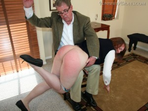 bronte spanked by david pierson