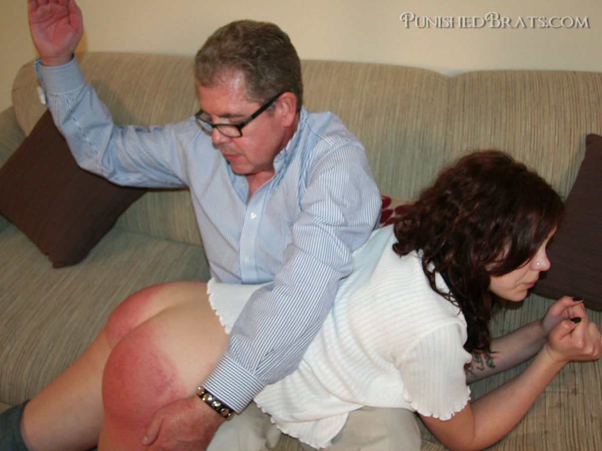 spanking punished brats
