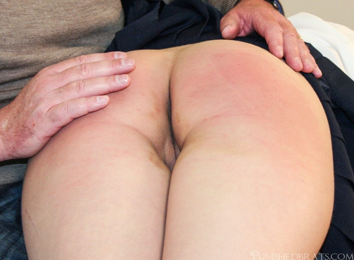 Spank her on the bare