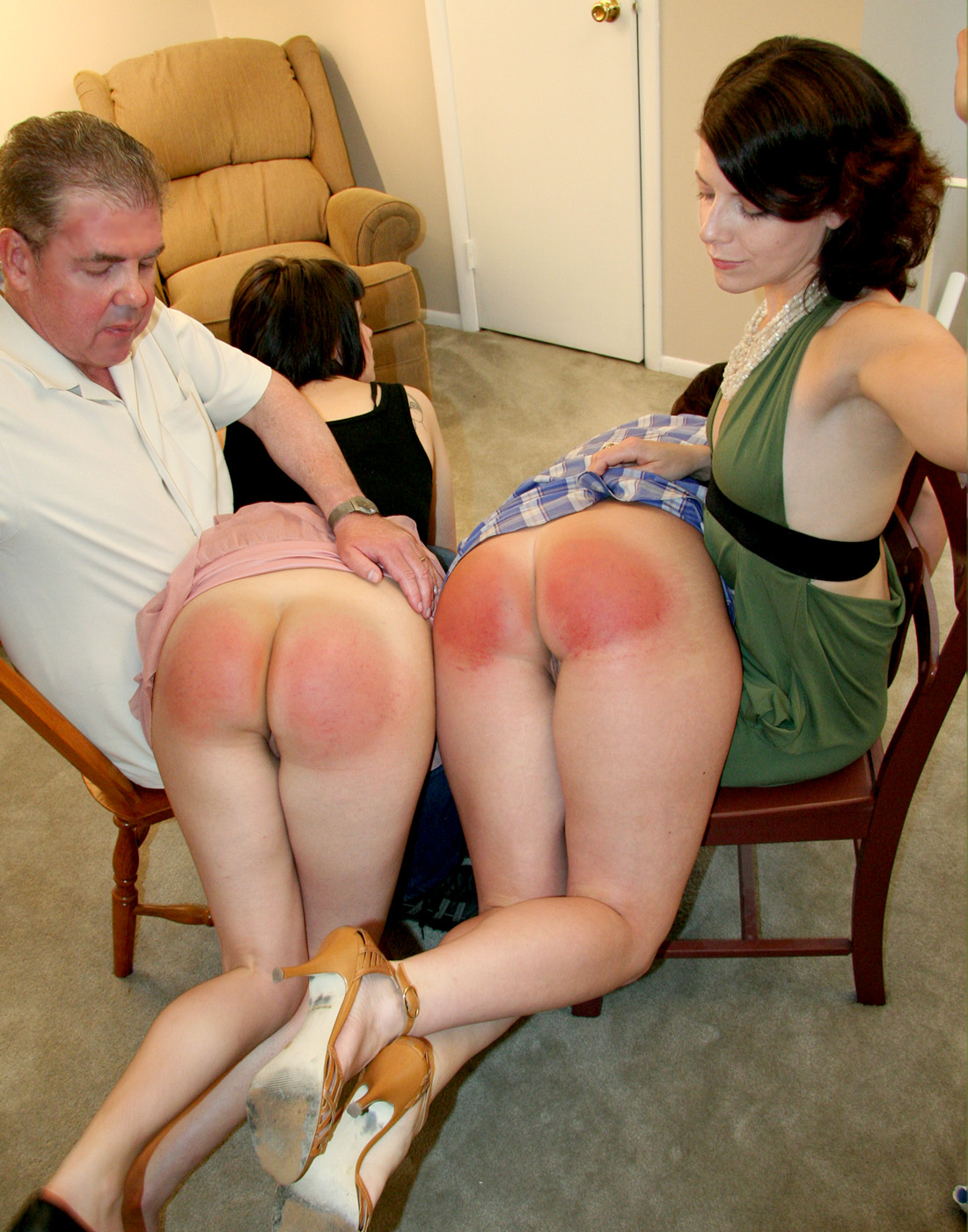 Really Hard Spanking Teen Sex